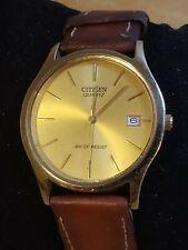 Citizen Gold Tone Tone Mens Dress Watch 2510-R33982