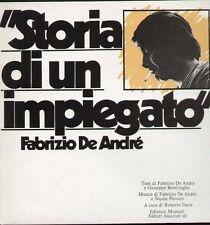 FABRIZIO DE ANDRE' - STORIA DI UN IMPIEGATO - CD SIGILLATO 2009 - DIGIPACK
