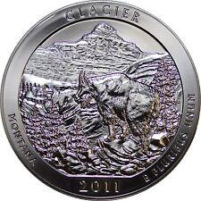 2011 25C Glacier 5 oz Silver America the Beautiful Quarter