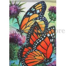 Mini Garden Flag 12X18'' Double Sided House Yard Banner Flower Butterfly Decor