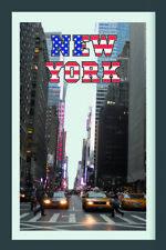 New York Skyline Taxi Mirror Wall Mirror, bar, Party Basement, BAR