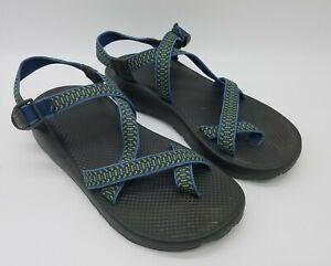Chaco Z/2 Men's Toe Loop Sport Hiking Vibram Sandals Waterproof Blue Size 12