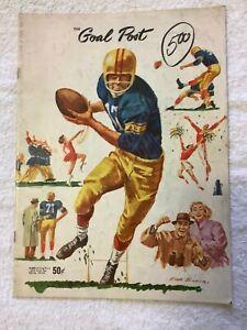 US COLLEGE 1961 FOOTBALL PROGRAM  CALIFORNIA vs UCLA