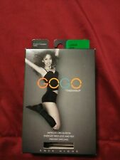 Therafirm GoGo Knee  High Compression Socks 10-15mmHg Ladies Large Cocoa New