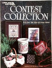 Leisure Arts Counted Cross Stitch Charted Patterns CONTEST COLLECTION 6 Designs!