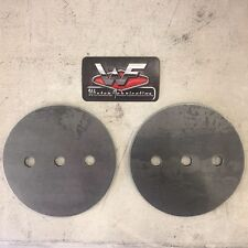 Universal Lower Circle Plates - Pair - Airbags Custom Mounting - 2500 2600