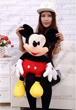 "40"" Disney World Parks Jumbo Cute Mickey Mouse Giant Plush Doll Soft Stuffed Toy"