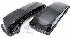 Mutazu CVO 6x9 Speaker Lids,metal grill fit Harley Touring Saddlebag 1994-2013