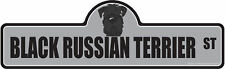 Black Russian Terrier Dog Decal | Dog Lover D�cor Vinyl Sticker