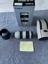 Canon EF 70-200mm F/2.8L L IS II USM Lens - USED TWICE! - IMMACULATE! - PERFECT!