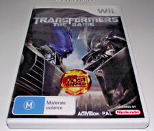 Transformers The Game Nintendo Wii PAL *Complete* Wii U Compatible