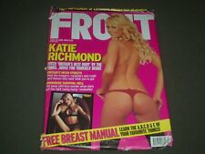 2003 APRIL FRONT MAGAZINE ISSUE NO. 55 - KATIE RICHMOND COVER - O 7563I
