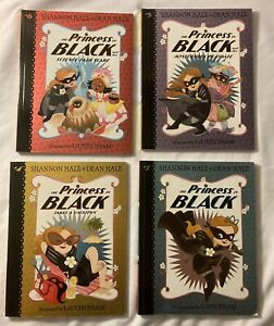 The Princess In Black Book Set Volumes 4,5 & 6 And Volume 1 As Welll