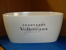 "Brand New ~ Vollereaux Champagne Large 19"" Plastic Ice Bucket"