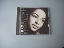 SADE / THE REMIX DELUXE - JAPAN CD opened