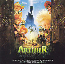Arthur and the Invisibles [Motion Picture Soundtrack] by Eric Serra CD NEW