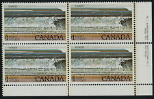 Canada 726 BR Block Plate 1 MNH Fundy National Park