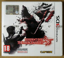Videogame - Resident Evil The Mercenaries 3D - Nintendo 3DS