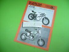 406KA2 Prospekt (1978) LEM MOTOR S.A.S. Cinno junior corsa, Cinno cross
