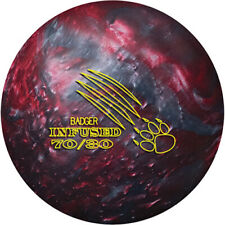 """New 900 Global Badger Infused Bowling Ball   1st 12#4oz Top 2.25oz Pin 1.5-2"""""""