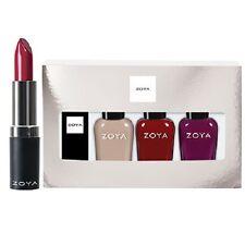 ZOYA Nail Polish Rosy Cheeks Lips & Tips Quad 1 fl oz