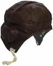 Smiffys Adult Unisex Flying Helmet Brown One Size 33437