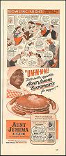 1943 Vintage ad for Aunt Jemima Buckwheats Pancakes  WWII era  (031117)
