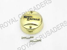 BRASS COLORED PLASTIC DISTRIBUTOR COVER+SCREW SUITABLE FOR ROYAL ENFIELD @JR