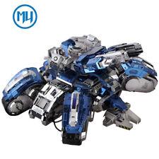 MU 3D Metal Puzzle Starcraf Siege Edition Tank Model Kits DIY 3D Laser Cut Toy