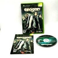 Eragon Microsoft Xbox Complete Very Good Tested Sierra 2006 Multiplayer Bink Fox