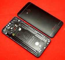 Original HTC One M7 Akkudeckel Gehäuse Backcover Battery Cover Housing Kamera
