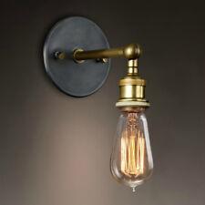 Applique Murale Laiton Rétro Industriel 110-220V mur Corridor loft Sconce lampe
