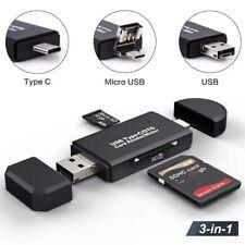 Card Reader Usb 3.0 Type C Micro Sd Tf Otg Smart Memory Adapter Laptop Computer