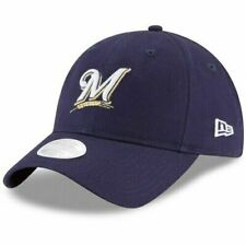 Era Milwaukee Brewers Women's Navy Core Classic 9twenty Adjustable Hat