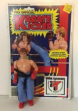 PKA Official KARATE KICKER action figure 1985 Placo Toys Kickboxer 1980s