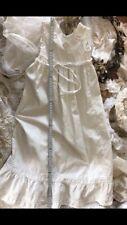 Alt Viktorianischer Stil Vintage Kleid Taufkleid Kind brocante Shabby Frankreich