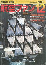 KOKU FAN 12/83 CANADA CF-104 CF-100 CF-101 CP-140 CF-5 / DOUGLAS A-1 SKYRAIDER