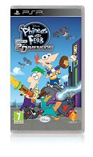 Phineas e Ferb-Quer durch die 2nd Dimension (PSP) spanischer Import Factory Sealed