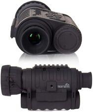 HD 6x50mm 1150 ft Digital Night Vision Infrared Monocular Camera Black (WG-50)
