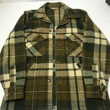 Vintage Woolrich Mackinaw Cruiser Jacket Size 40 M-L Buffalo Plaid