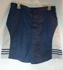 Adidas Mens Medium Board Shorts Gray and Blue Drawstring Waist