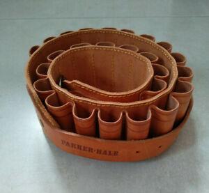 Parker Hale leather closed loop shotgun cartridge belt (12G)