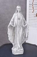 Shabby Chic Madonna Brocante Heiligenfigur Kirchenfigur Maria sakrale Skulptur