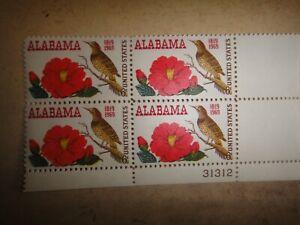 U.S.A. blok de 4 Estado de Alabama-nº Yvert 878 nueva ver foto. ref 4838