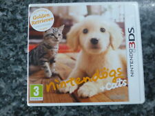 Nintendo 3D DS game nintendogs and cats