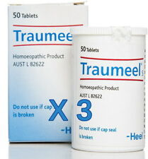 3 x New HEEL Traumeel S 50 Tablets Natural Anti-Inflammatory Relief of Pain