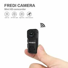 FREDI 1080P HD Mini Spy Indoor WiFi Security IP Hidden Camera With Night Vision