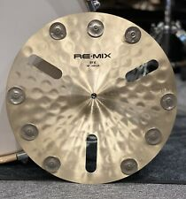 "More details for zildjian re-mix efx 16"" crash cymbal effects #651"
