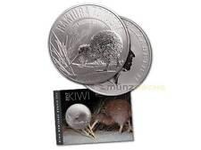 1 $ Dollar Great Spotted Kiwi Neuseeland  2017 1 oz Unze Silber Silver Blister