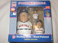 VINTAGE RETIRED LIMITED EDITION BOSTON RED SOX NESTING DOLLS NIB